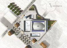 Marseille Grand Mosque Building - e-architect Mosque Architecture, Ancient Greek Architecture, Architecture Images, French Architecture, Religious Architecture, Architecture Portfolio, Building Extension, Extension Designs, Zaha Hadid Architects