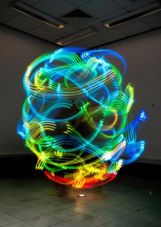 """wow :O Hernan's work, """"The Secret Body of Wireless,"""" was exhibited at the Newcastle University. 
