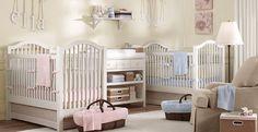 twins nursery - boy & girl