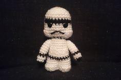 Stormtrooper - Star Wars inspired amigurumi doll by CrochetAga on Etsy