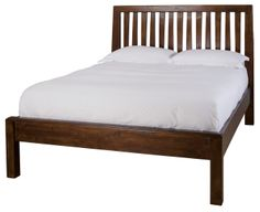 King and Queen Bed Frames : Post and Rail Bed: Individually crafted from solid wood - Toronto, Vancouver, Calgary