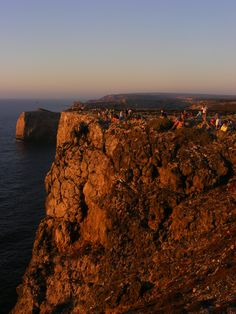 Sunset at Cape St. Vincent - Vicentine Coast / Sagres - Portugal (This cape is the southwesternmost point in Portugal.)