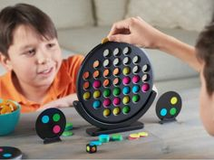 Matching Connect Game for Kids by Double Spot | The Grommet See Games, Games For Kids, Games To Play, Board Games, Pool Games, Lawn Games, Backyard Games, Unique Gifts For Kids, Gifts For Boys