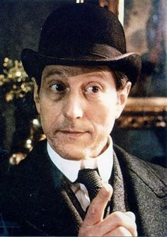 Colin Jeavons as Inspector Lestrade in the Jeremy Brett TV Series The Adventures of Sherlock Holmes.