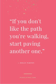 Don't like the path you are on, CHANGE IT! @PCOSLiving // Motivational Quotes // Seize the Day // Quotes about change