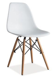 Jídelní židle ENZO bílá Eames, Chair, House, Furniture, Design, Home Decor, Decoration Home, Home, Room Decor