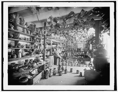 The interior of pottery, Biloxi, Miss., c. 1901, Detroit Publishing Co.; Library of Congress  Prints and  Photographs Division Washington, D.C