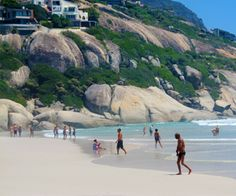 Llandudno Beach: One of the best beaches in the Cape Town Area (in my humble opinion) Cape Town, I Fall In Love, South Africa, Beaches, The Good Place, Have Fun, African, Earth, Mountains