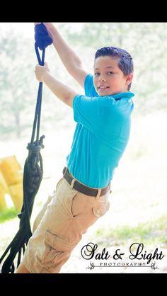Just a swingin'n