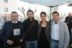 evento twiter #desayunosgallo con Ricardo(Logosegur) and friends