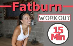 Full Body HIIT Workout - 15 Min Fat Burning Home Workout - Advanced - Sh...