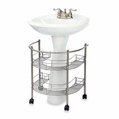 Rolling Organizer For Pedestal Sink - BedBathandBeyond.ca