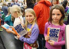 """The Gutsy Girl; Escapades for your Life of Epic Adventure """"Author Caroline Paul celebrated the launch of The Gutsy Girl (Bloomsbury), which encourages girls to be bold and brave, on March 5 at The BookSmith in San Francisco. The event drew 285 attendees, including Junior Girl Scouts, Brownies, and other readers – one of whom even performed a song inspired by the book."""" In Brief: March 10, 2016"""