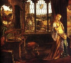 paintings the lady of shalot - Google Search