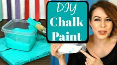 Make your own high quality chalkpaint for cheap! Homemade Chalkpaint recipe with calcium carbonate comparable to Annie Sloan chalkpaint. Also in this video l. Best Chalk Paint, Homemade Chalk Paint, Chalk Paint Colors, White Chalk Paint, Annie Sloan Chalk Paint, Chalk Pens, Paint Pens, Sparrow Nest, Colorful Dresser