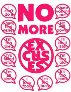 NO MORE!!