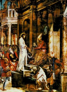 Tintoretto w/Pilate