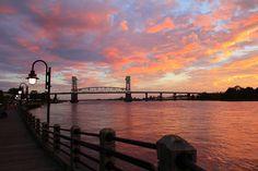 Cape Fear Bridge Photograph