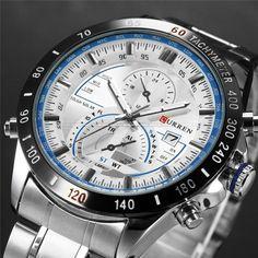 f04dfa6b44f4 CURREN watches men luxury water resistance 3bar. Relojes ChinosReloj ...