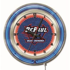 Use this Exclusive coupon code: PINFIVE to receive an additional 5% off the DePaul University 19 Inch Neon Logo Clock at SportsFansPlus.com