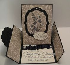 Gatefold Easel Card