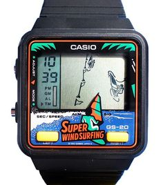 Casio Super Windsurfing GS-20. 1990