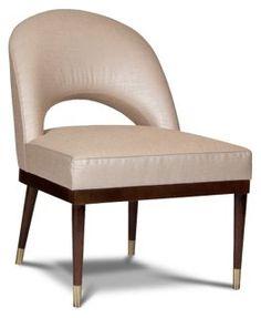 Sasha Arc Accent Chair, Zinc
