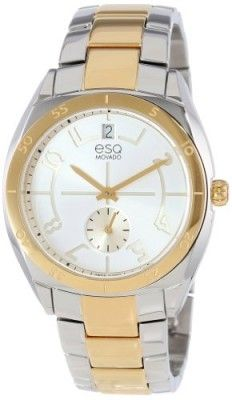 a5aa6461941 Relógio ESQ Movado Women s 07101437 Origin Two-Tone Stainless Steel Case  Bracelet Silver-Toned