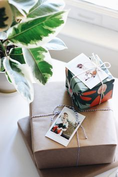 Tag gifts with a photo of the recipient! Pin by @maia_mcdonald, curated by @justinablakeney for @INSTAXamericas  #instax.
