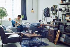 Mens Room Decor, Home Decor, Interior Styling, Interior Decorating, Otaku Room, Japanese Interior Design, My Ideal Home, Man Room, Tiny House Design