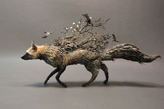 Painting or sculpture of foxes in art history - Google Search