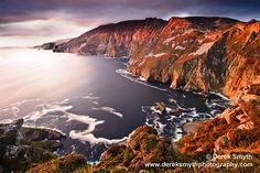 Ireland  -  Slieve League Sunset