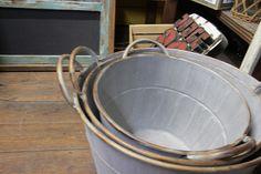 metal tubs