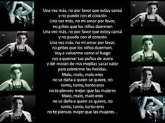Canción Malo, de Bebe : violencia a las mujeres Shakira, Women Rights, The Ugly Truth, Abusive Relationship, Spanish Language, Domestic Violence, Being Ugly, Music Videos, Youtube