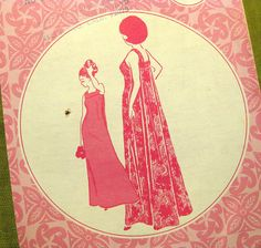 Vintage Hawaiian Sewing Pattern Patterns Pacifica by SelvedgeShop, $14.00