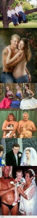 Weird family photos