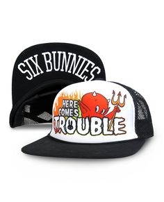 Here Comes Trouble Cap – Bump & Bunny