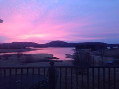 Winter morning on Cherokee Lake!