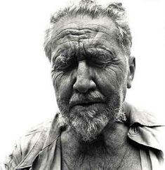 Ezra Pound released from prison. Photo by Avedon
