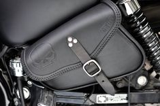 SADDLE BAG SADDLEBAG HARLEY DAVIDSON  SPORTSTER MODELS ITALIAN LEATHER HANDMADE #harleydavidsonsportsteriron