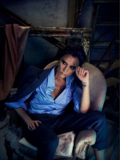 Victoria Beckham By Alex Lubomirski For Allure Magazine March2014 - 3 Sensual Fashion Editorials | Art Exhibits - Anne of Carversville Wome...