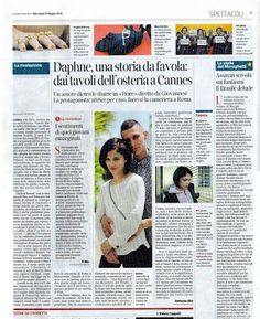 L'arte di Vittorio Amadio: La tracciabilità del DNA: Daphne Scoccia, nipote di Vittorio Amadio, al Festival del Cinema di Cannes