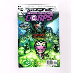 green lantern corps recharge 5 part modern age series from dc