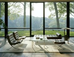 Ludwig Mies van der Rohe, the father of modern architecture's 126th Birthday today!