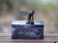 Chloe - The Iron Fairies My Little Fairy Garden Miniature Fairies, Flower Fairies, Fairy Art, Fairy Gardens, Chloe, Decorative Boxes, Miniatures, Iron, Australia