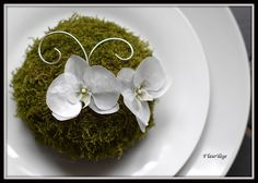 Table Jardin romantique (préparation)