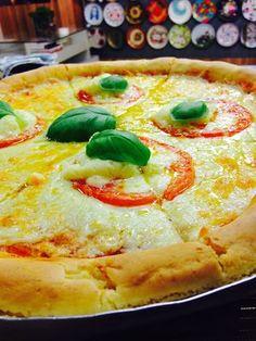 Massa de pizza sem glúten - Receitas