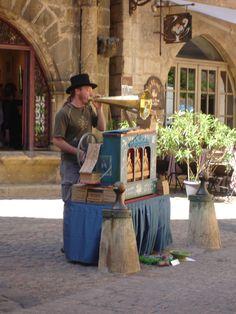 Muzikant in Sarlat