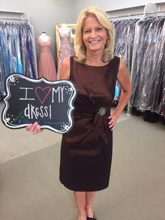 Teresa looks beautiful in this Cocoa dress by Special Occasions! She is the Mother of the groom & the wedding will be held at Kemah Gardens. Teresa came in from League City to find her perfect dress for the wedding! I found MY Dress! - Our Customers in their beautiful dresses! Mother of the Bride, Houston TX, T Carolyn, Formal Wear, Evening Dresses, Plus Sizes, Couture, Gala, Gowns