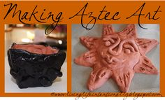 Early Explorers Aztec Clay Art for Kids